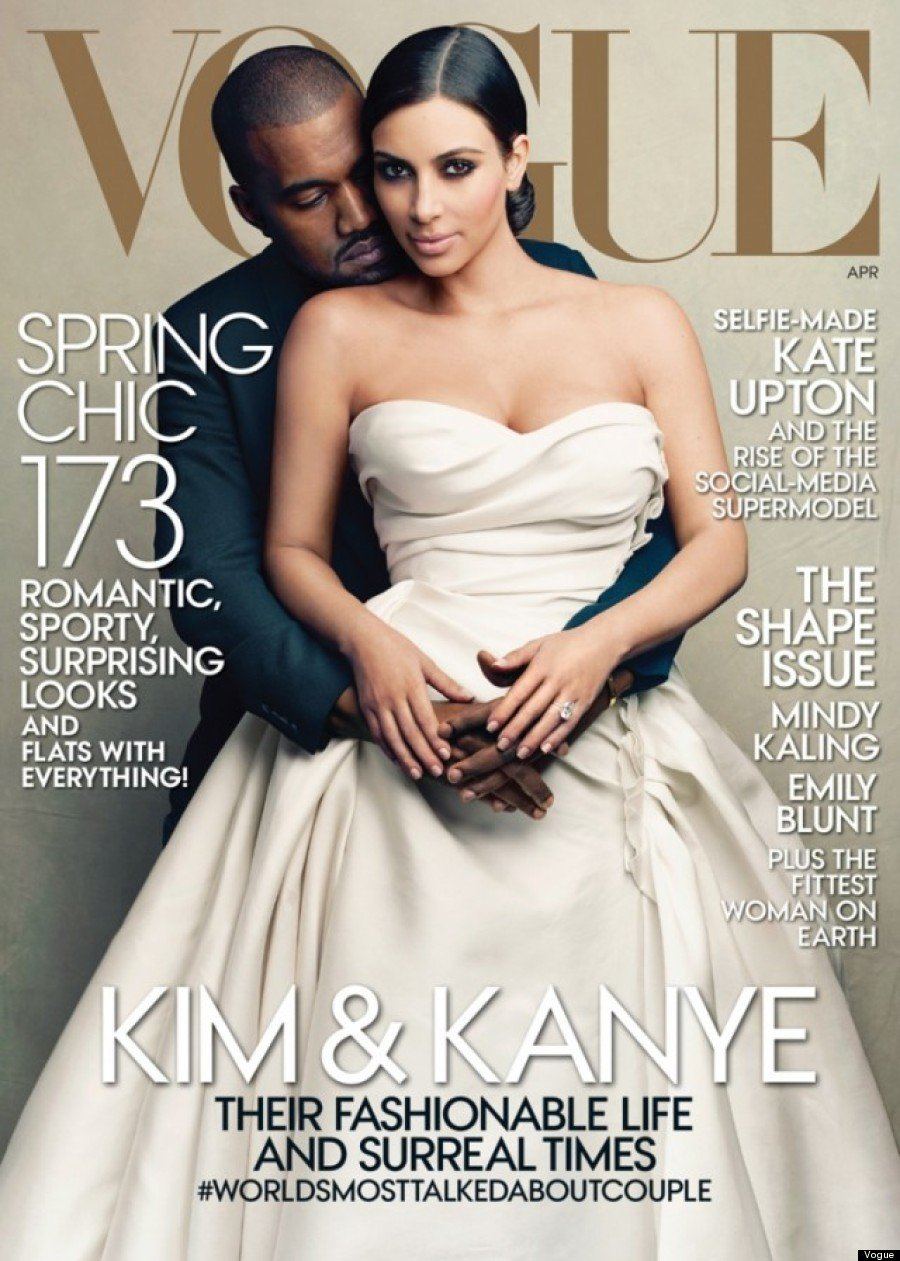 Cover Kim Kardashian Vogue