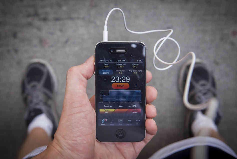 Fitness App Main
