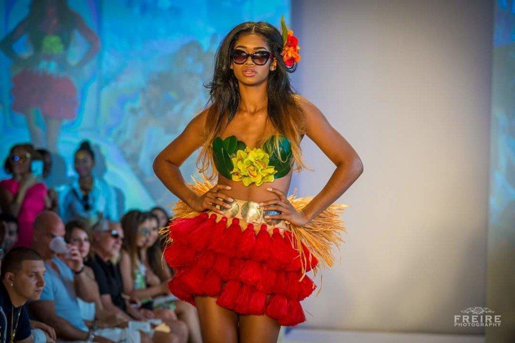 Model Alana At Swimwear Fashion Week