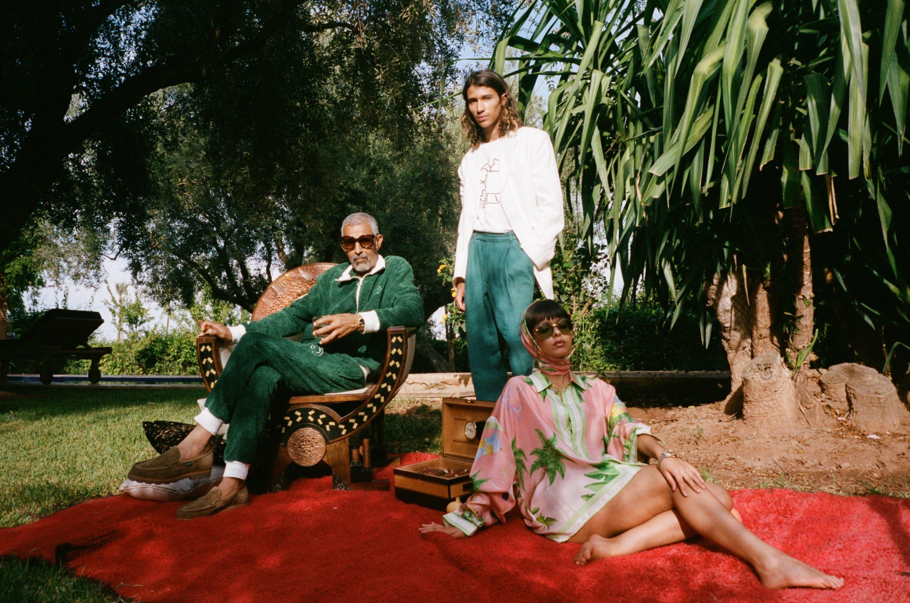 Casablanca Menswear by Charaf Tajer