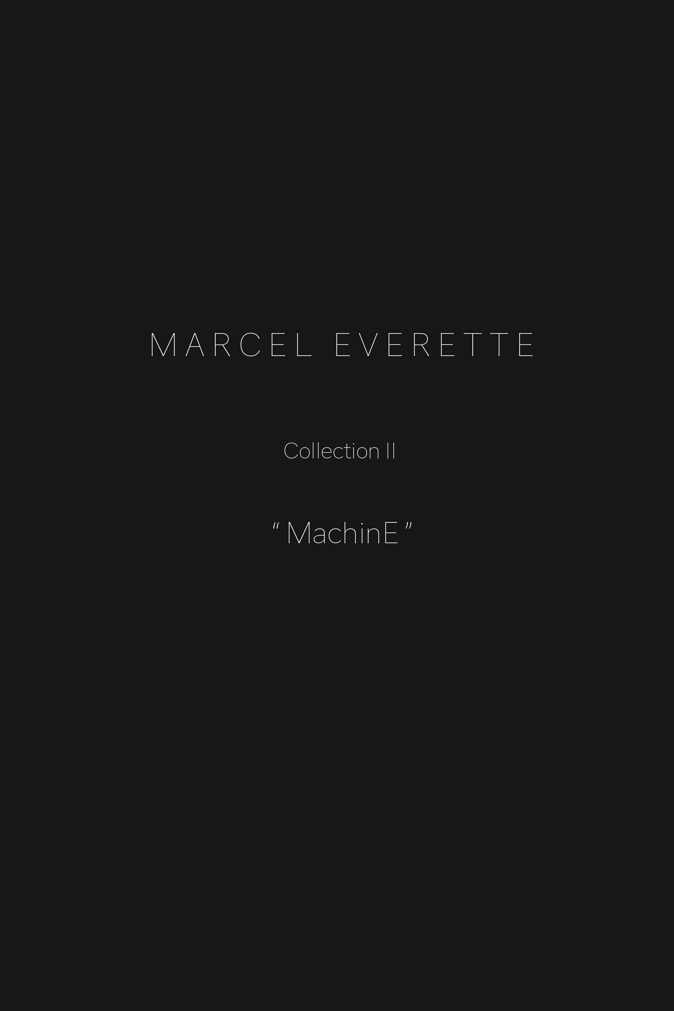 Marcel Everette's Latest Collection
