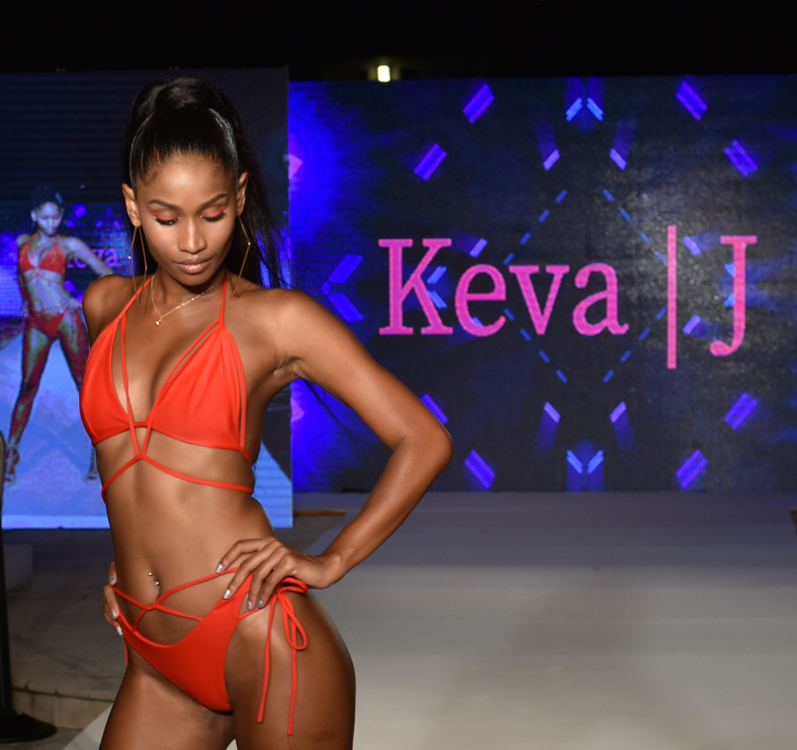Keva J at Miami Swim Week