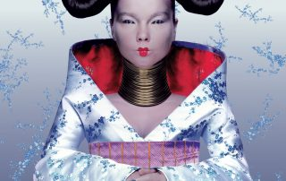 Bjork Homogenic Album Cover