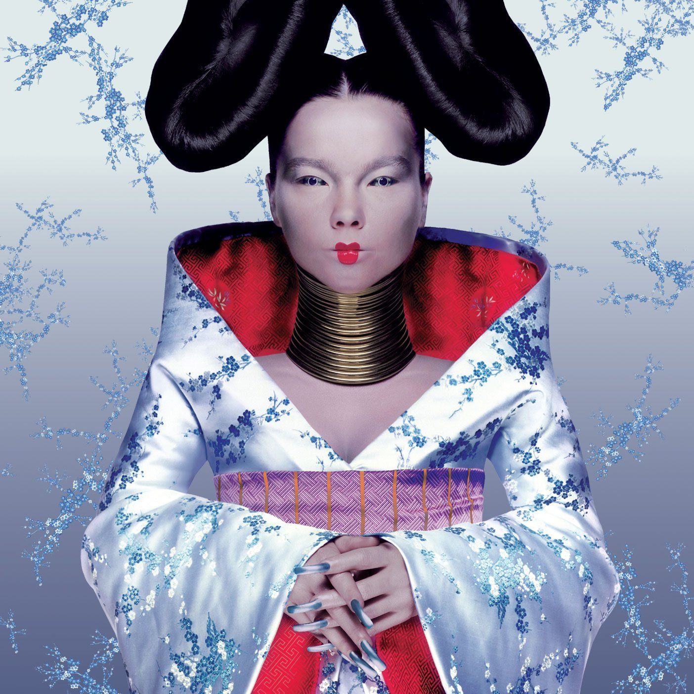Bjork Homogenic Album Cover